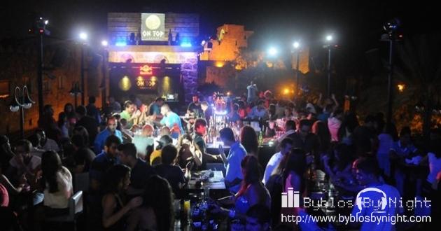 Saturday Night at B On Top Pub, Byblos